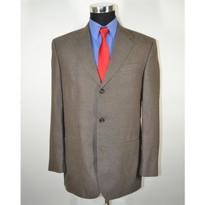 Geoffrey Beene 40R Sport Coat Blazer Suit Jacket G